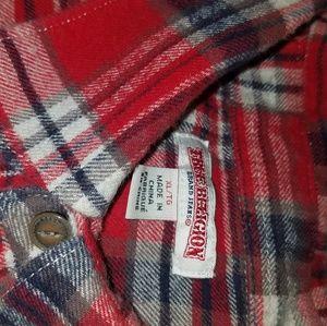 Flannel True Religion long sleeved shirt.